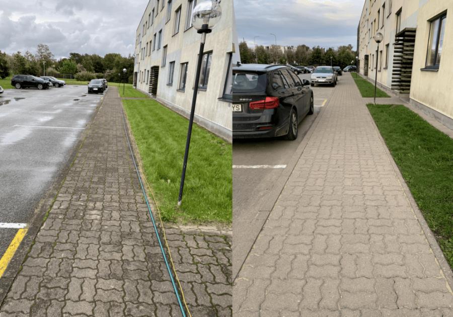 Tänavakivide puhastamine Tallinn